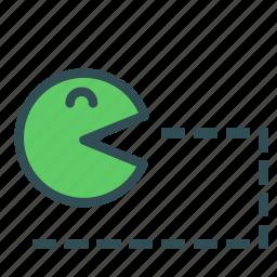 avatar, fun, game, gaming, pacman icon