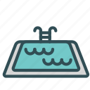 jump, pool, sport, swim, water icon