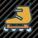 fun, park, roller, skates, sport icon