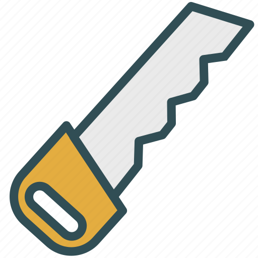 construction, equipment, saw, tool icon