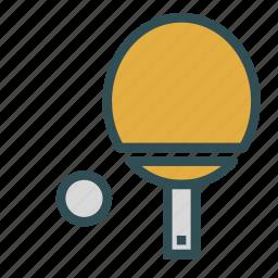 pingpong, sport, table, tennis, training icon