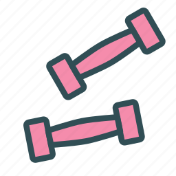 sport, training, weights, workout icon