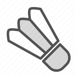 badminton, fun, shuttlecock, sport icon