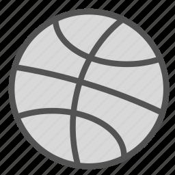 ball, basket, sport, training icon
