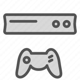 console, game, gaming, play, station icon
