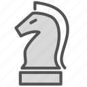 chess, horse, knight, piece icon