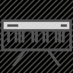 digital, instrument, music, organ, piano icon