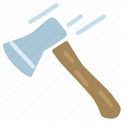 axe, forest, hatchet, tree, wood icon
