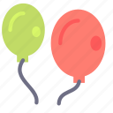 balloon, birthday, fun, kids, party icon