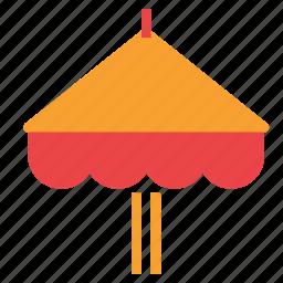 beach, fun, holiday, umbrella, vacation icon