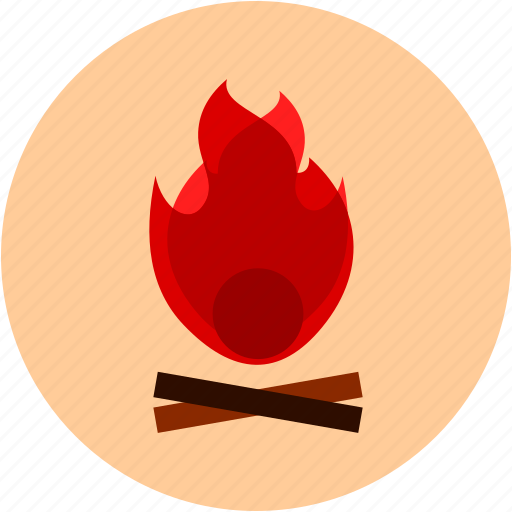 activities, burning, camp fire, fire, wood icon
