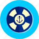 activities, buoy, flipper, float icon