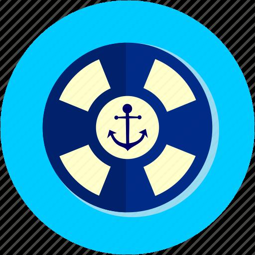 activities, buoy, flipper, float icon