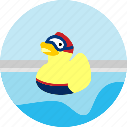 activities, bath, duck, toy icon