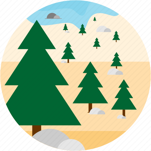 activities, forest, plant, tree icon