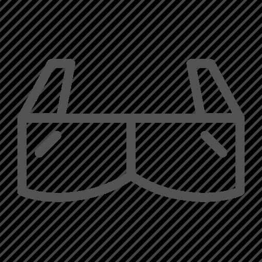 cinema, entertain, glasses, media, movie icon