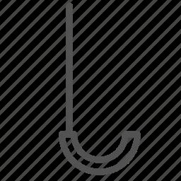 anchor, hook, ocean, sailing, sea icon