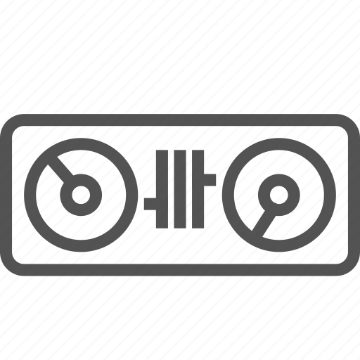 dj, mix, party, plate, show, table icon