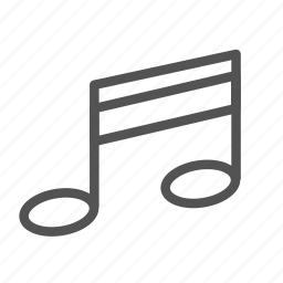 key, music, note, play, sing icon