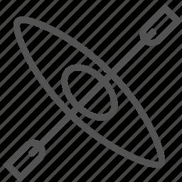 aerial, antenna, parabola, satellite, scanner, tv icon