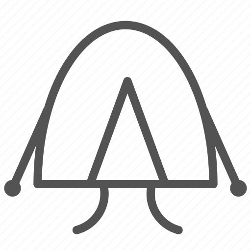 camping, house, mountain, park, tent icon