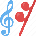 music signs, music training, musical notes, singing, song icon