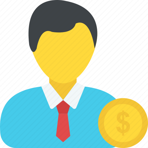 business, earnings, employment, income, investor icon