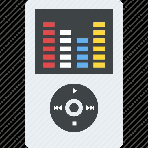ipod, listening to music, mp3 player, music player, walkman icon