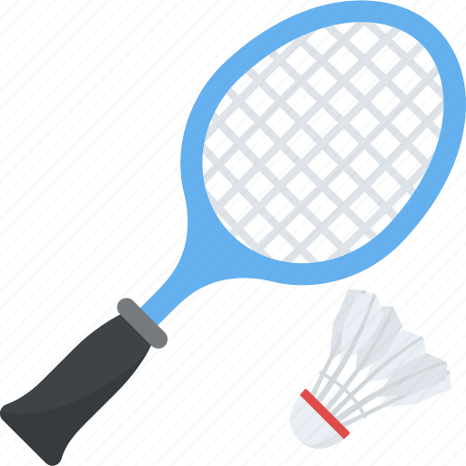 badminton, game, play, racket and shuttle, sports icon