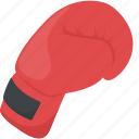 boxing, boxing glove, cushioned glove, punch glove, sports glove icon
