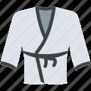 boxing robe, karate gi, karate uniform, martial art uniform, martial arts icon
