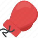 boxing, boxing glove, cushioned gloves, punch glove, sports glove icon