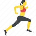 running, running woman, female runner running, woman jogging, activity