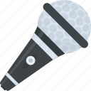 anchoring, announcement, mic, microphone, sound icon