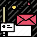 brand, company, identity, letter, presentation, visual icon icon
