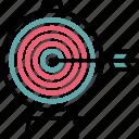 aim, focus, goal, target, targeting icon icon