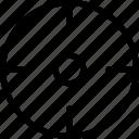 aim, bullseye, focus, goal, seo, target icon