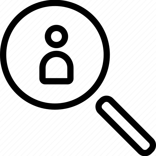 lens, magnifier, magnifying, searching, view icon