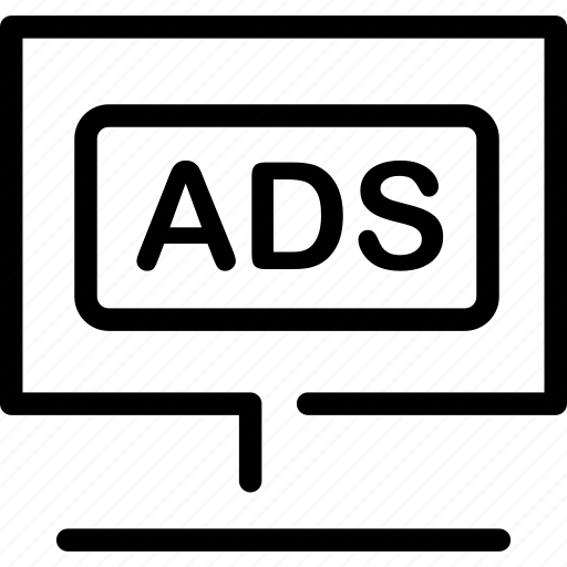 ad, advertisement, business, marketing, web icon