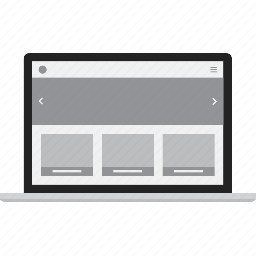 adaptive, computer, laptop, responsive icon