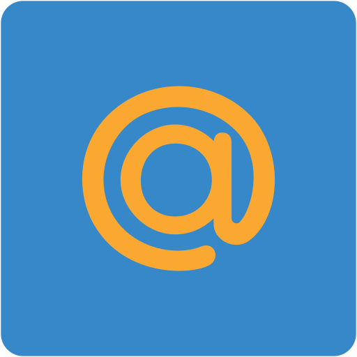address book, contact, contacts, email, mail.ru, mailru, square icon