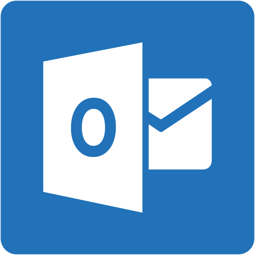 address book, contact, contacts, email, mail, outlook, square icon