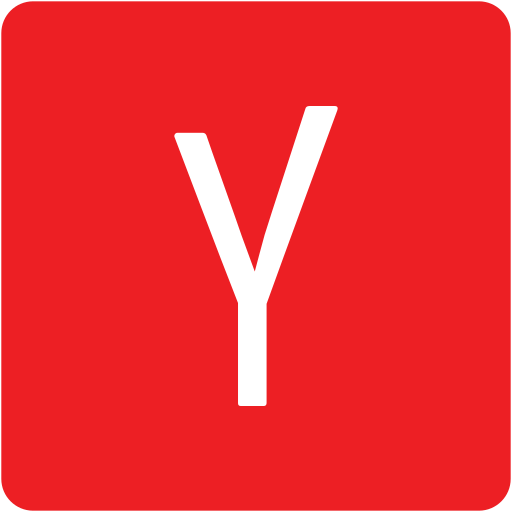address book, contact, contacts, email, mail, square, yandex icon