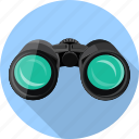 binoculars, connection, explorer, find, internet, magnifier, web icon