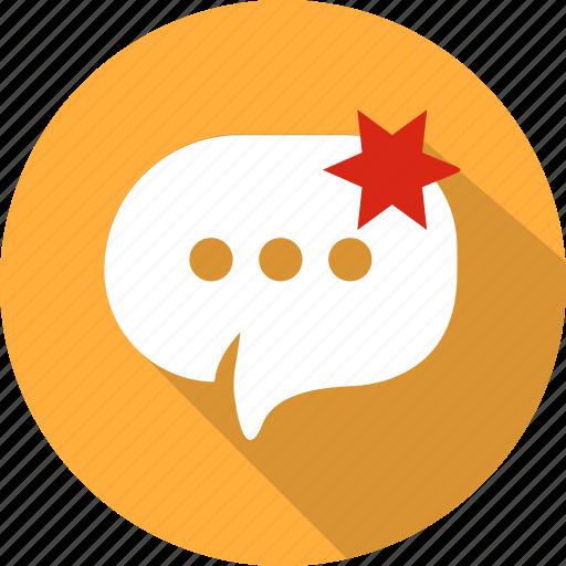 bubble, chat, message, mobile, speech, talk, web icon