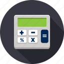business, calculation, calculator, finance, marketing, office icon