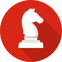 chess, control, game, gear, horse, options, play icon