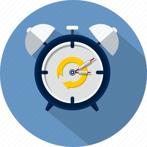alarm, clock, event, schedule, time, watch icon