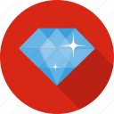 diamond, gem, jewellery, money, sale, shop icon