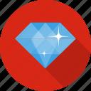 diamond, gem, jewellery, money, sale, shop icon